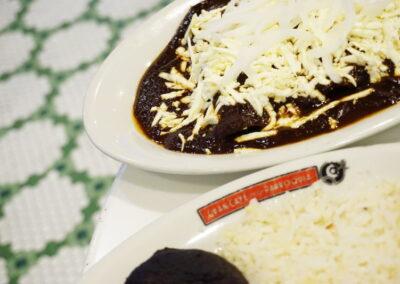 Enchiladas Gran Café de La Parroquia