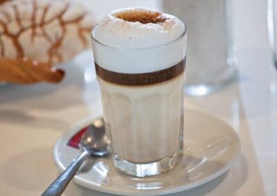 Café capuchina Gran Café de La Parroquia